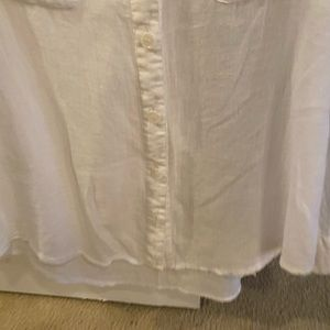 AG White Cotton Shirt Size XS